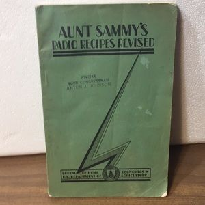 1931 Aunt Sammy Radio Recipes Revised